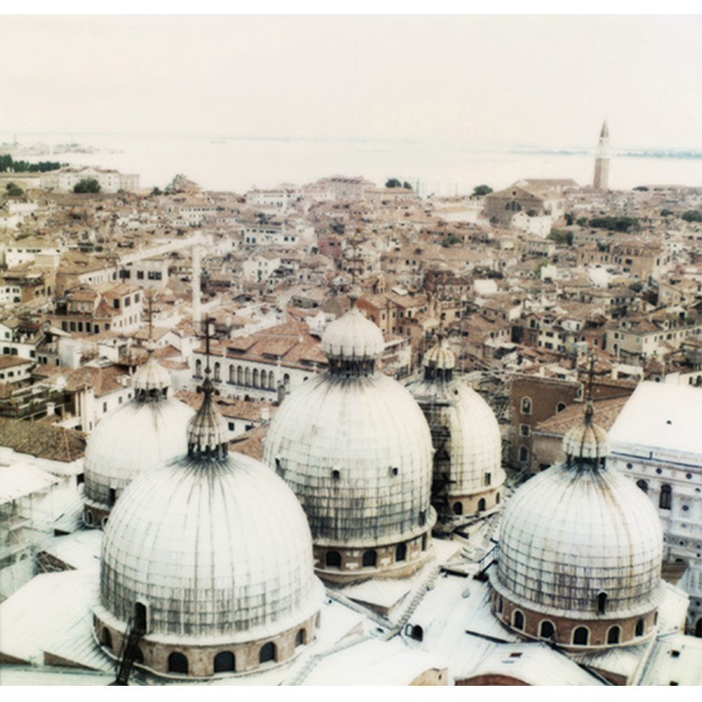 Joshua Jensen-Nagle, St Marks Domes with Venice Background, 2008, Newzones Gallery, Calgary