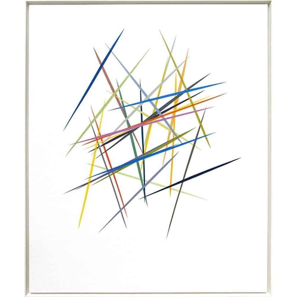 "Michael Batty, ""Cadence VII"", 2013, Acrylic on Canvas, 36 x 30 inches at Newzones Gallery, Calgary, Canada"