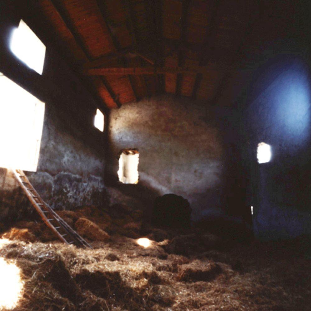 """Dianne Bos, """"La Porte, Barn Interior"""", 2012, CPrint - Newzones Gallery, Calgary"""