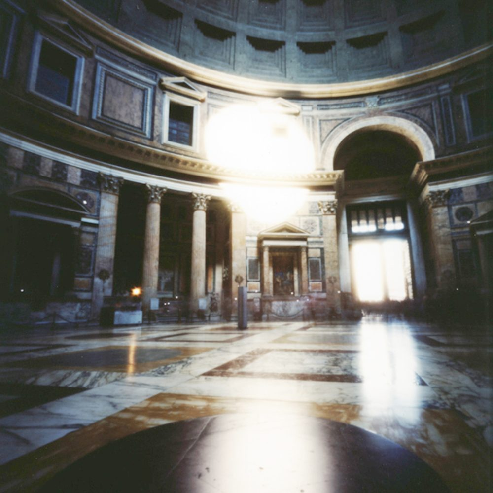 """Dianne Bos, """"Pantheon Interior, Rome"""", 2008, CPrint - Newzones Gallery, Calgary"""