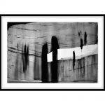 "Yechel Gagnon, ""Plerinage VII"", 2006, Paper, 28 x 41.5 inches - Newzones Gallery, Calgary"