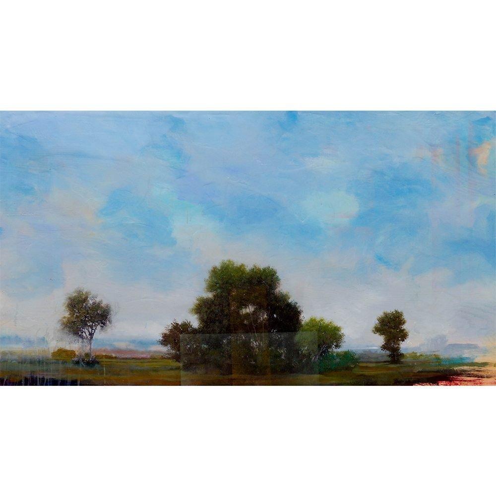 "Peter Hoffer, ""Poussin"", 2016, 40 x 72 - Newzones Gallery, Calgary"