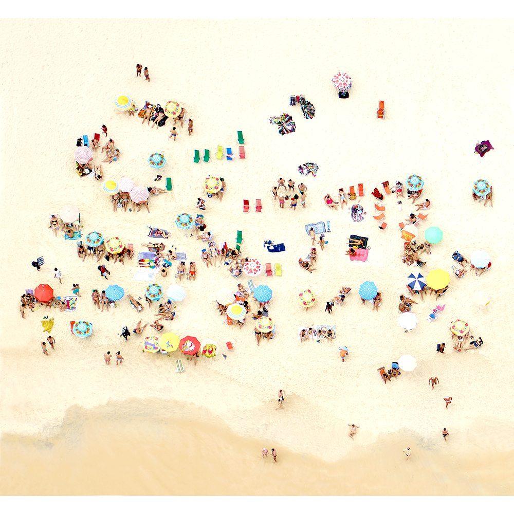 Joshua Jensen-Nagle, Sunbathers of Copacabana I, 2016, Newzones Gallery, Calgary
