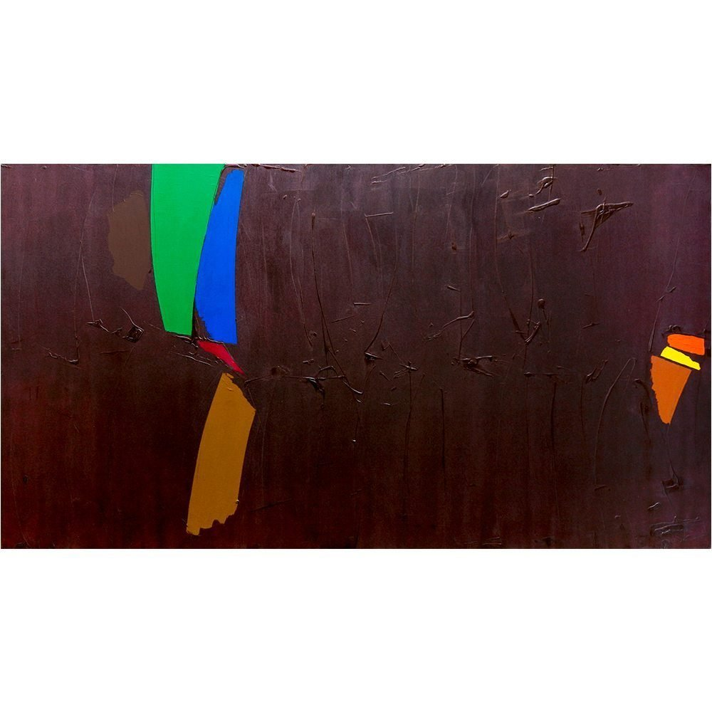 "William Perehudoff, ""AC-79-50"", 1979, Acrylic on Canvas, 56 x 103.5 inches - Newzones Gallery, Calgary"