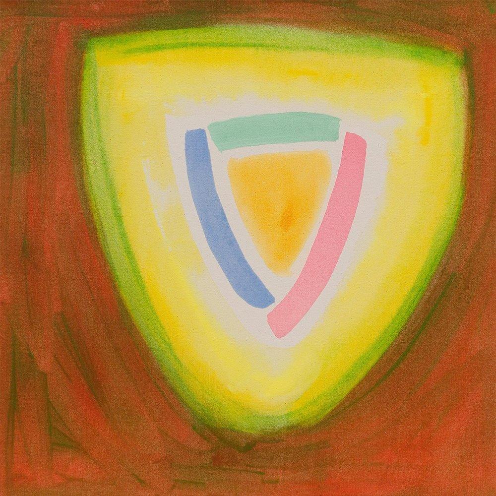 "William Perehudoff, ""AC-87-109"", 1987, Acrylic on Canvas, 32 x 32 inches - Newzones Gallery, Calgary"