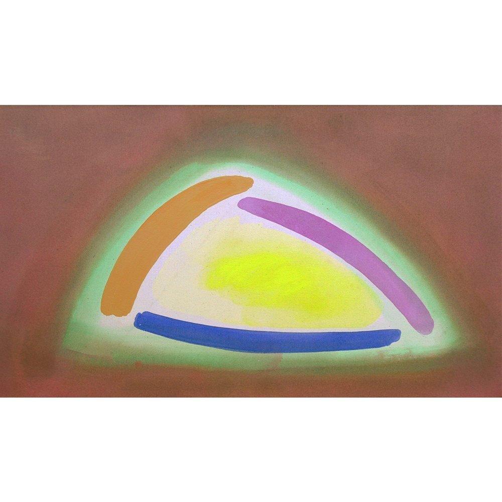 "William Perehudoff, ""AC-87-119"", 1987, Acrylic on Canvas, 32 x 55 inches - Newzones Gallery, Calgary"