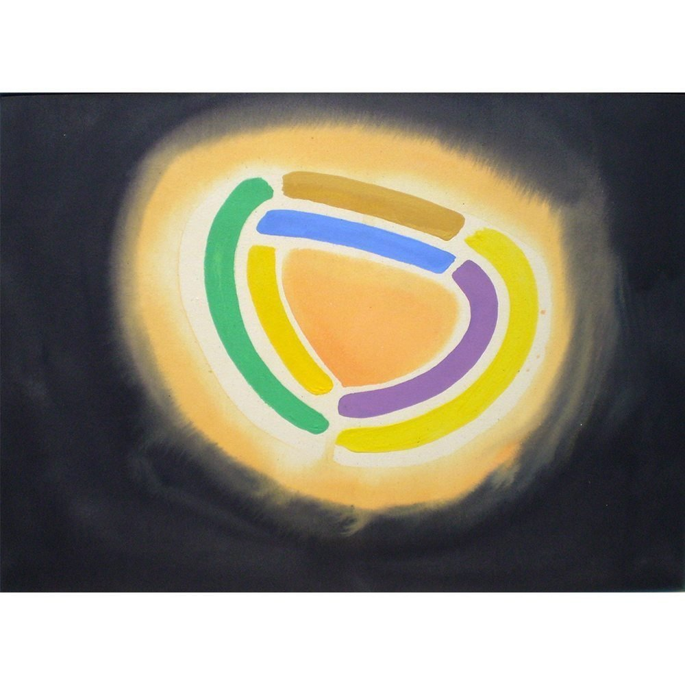 "William Perehudoff, ""AC-88-038"", 1988, Acrylic on Canvas, 32 x 44 inches - Newzones Gallery, Calgary"