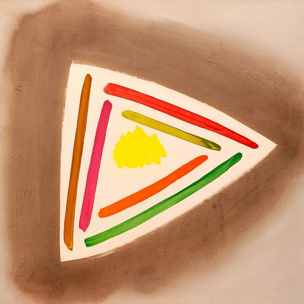 "William Perehudoff, ""AC-88-11"", 1988, Acrylic on Canvas, 56 x 55 inches - Newzones Gallery, Calgary"