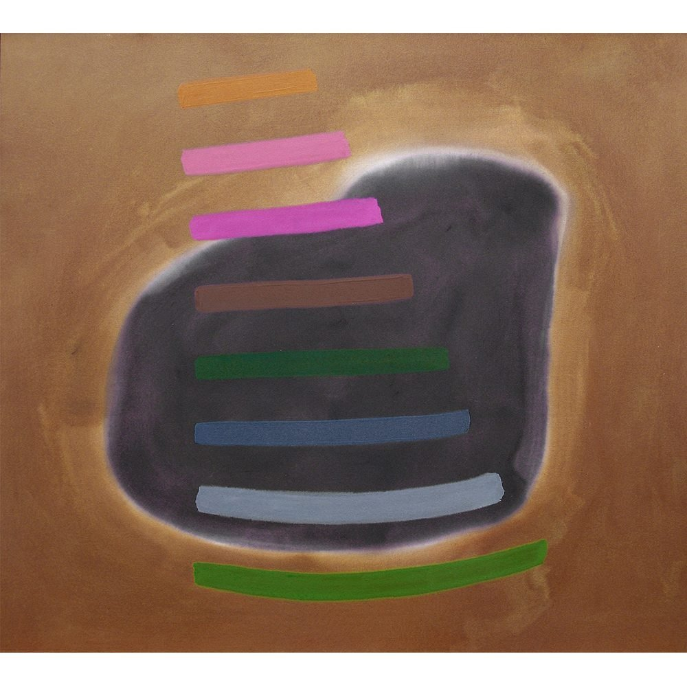"William Perehudoff, ""AC-90-25"", 1990, Acrylic on Canvas, 68 x 75.5 inches - Newzones Gallery, Calgary"