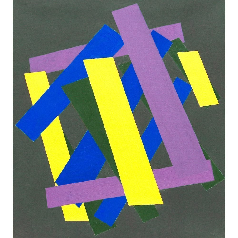 "William Perehudoff, ""AC-93-16"", 1993, Acrylic on Canvas, 32 x 28 inches - Newzones Gallery, Calgary"