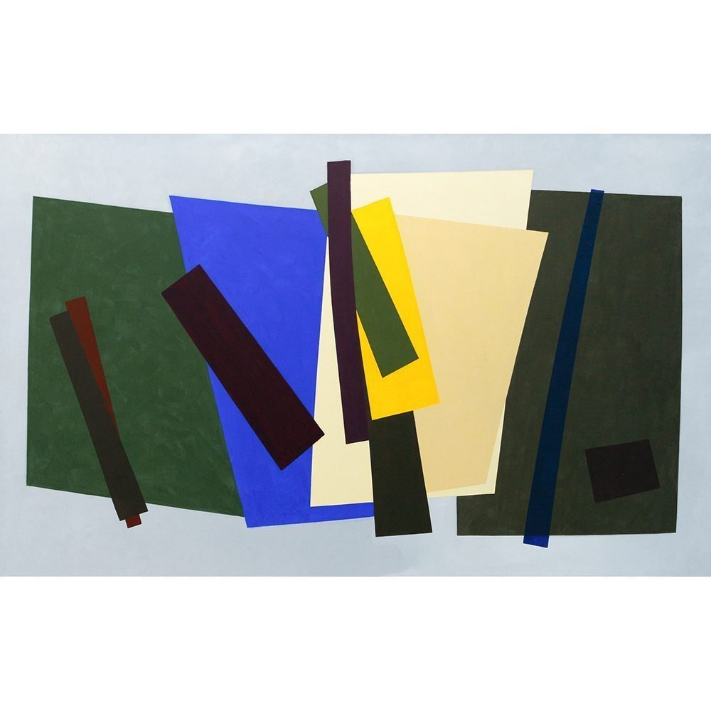 "William Perehudoff, ""AC-94-24"", 1994, Acrylic on Canvas, 68 x 112.75 inches - Newzones Gallery, Calgary"