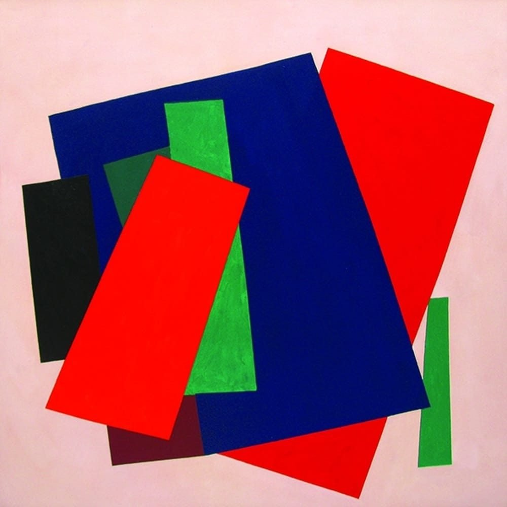 "William Perehudoff, ""AC-99-14"", 1999, Acylic on Canvas, 56.5 x 56 inches - Newzones Gallery, Calgary"