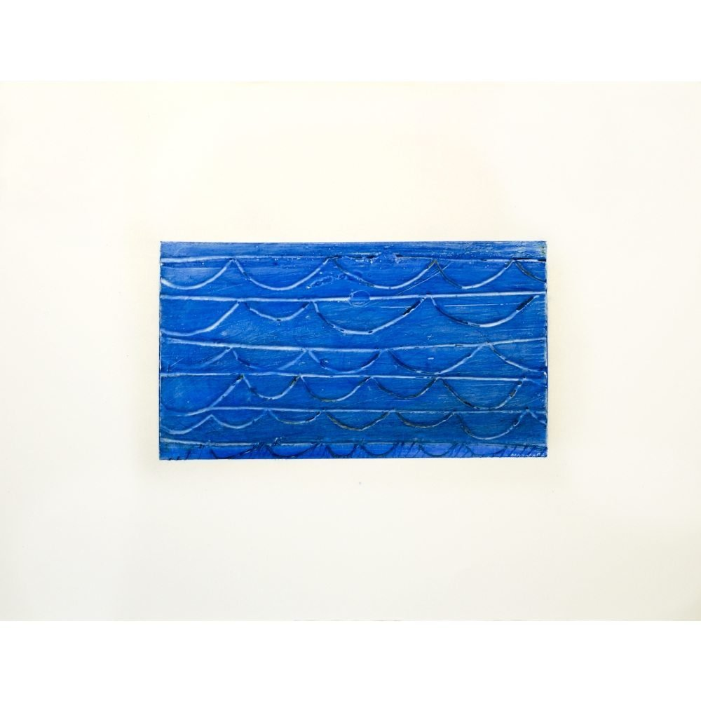 "Don Maynard, ""Blue Alert"", 2009, 20 x 26 inches - Newzones Gallery, Calgary"