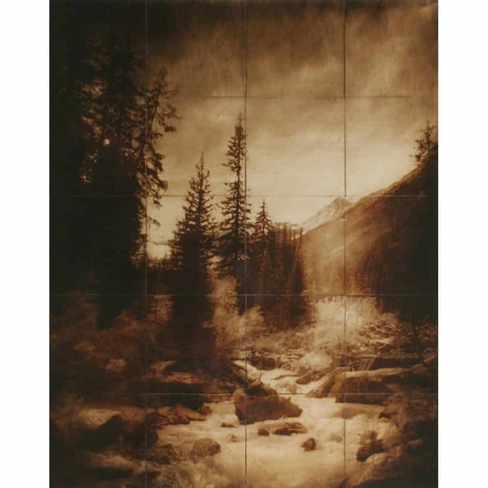 "John Folsom, ""From Plain of Six Glaciers"", 2008 - Newzones Gallery, Calgary"
