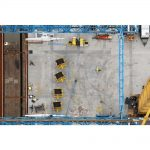 "Stuart McCall, ""Port Mann Bridge Deck from North Tower"", 2011 - Newzones Gallery, Calgary"