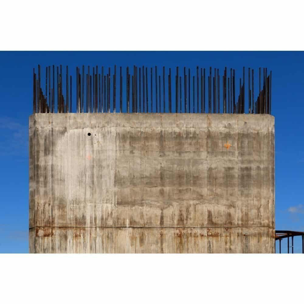 "Stuart McCall, ""Port Mann Bridge North Ramp Pillar"", 2010 - Newzones Gallery, Calgary"