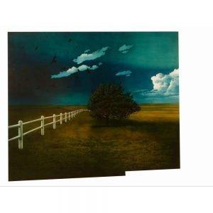 """Don Pollack, """"Badlands"""", 2007 - Newzones Gallery, Calgary"""