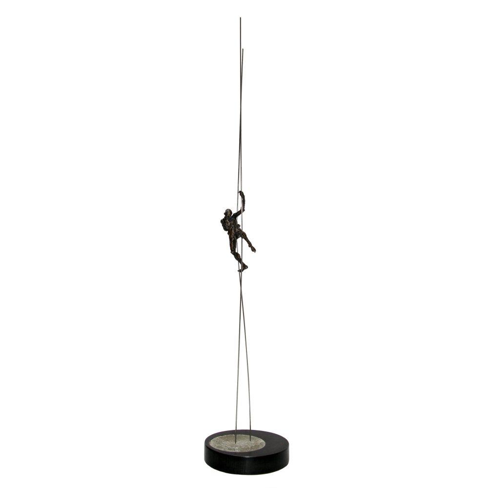"David Robinson ""Scaffold"", 2010, 25x5x5 at Newzones Gallery, Calgary, Alberta"