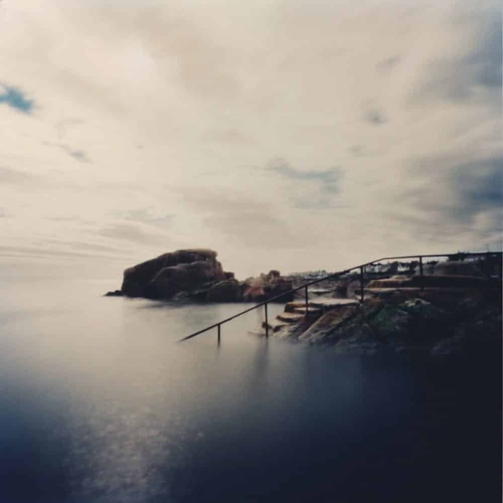 "Dianne Bos, ""Forty Foot Sandy Cove, Ireland"", 2016, CPrint - Newzones Gallery, Calgary"