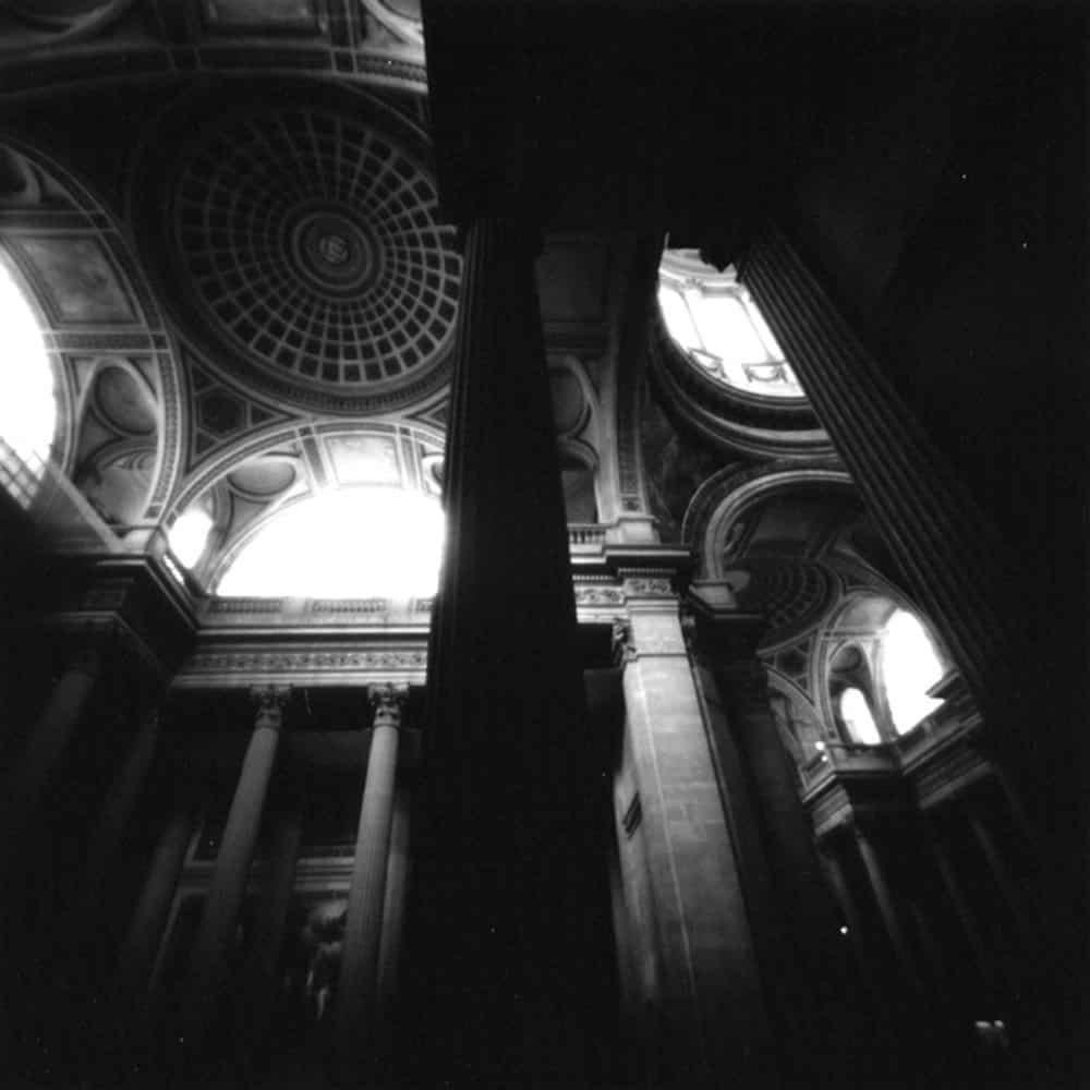 """Dianne Bos, """"Pantheon, Paris"""" 2001, CPrint - Newzones Gallery, Calgary"""