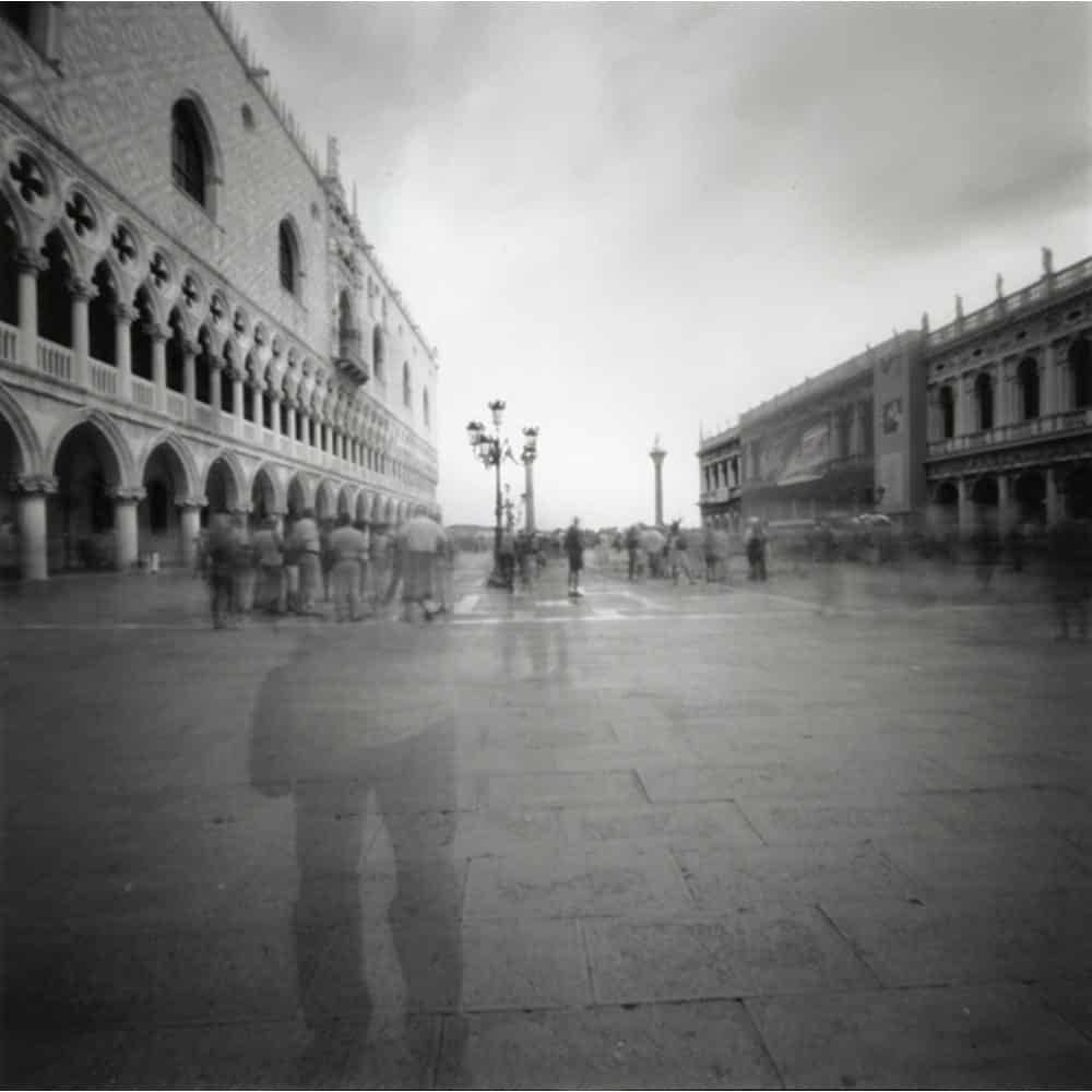 """Dianne Bos, """"Venice with Ghost"""", 2007 - Newzones Gallery, Calgary"""