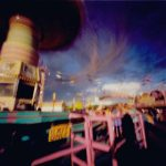 "Dianne Bos, ""Stampede Midway 3, Exit, Calgary"", 2004 - Newzones Gallery, Calgary"