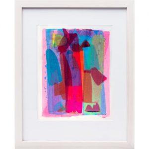 Bradley Harms, Colour Subject 2, 2017, acrylic on paper