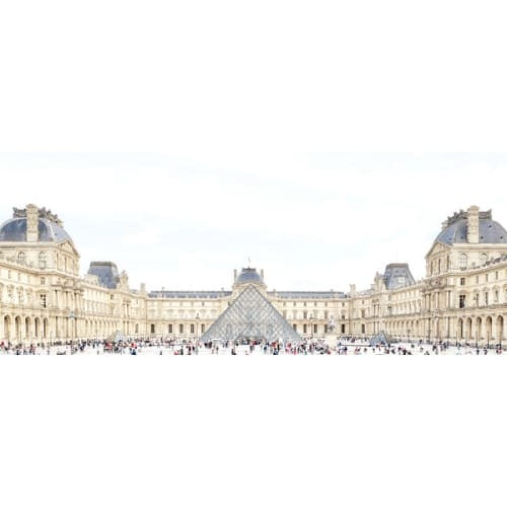 """Joshua Jensen-Nagle, """"The Louvre With You"""", 2018, Photograph Face Mounted to Plexi - Newzones Gallery, Calgary"""
