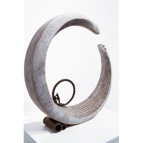 """David Robinson """"Sisyphus"""", 19.5 x 19 x 4 inches -2"""