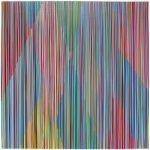 "Bradley Harms, ""RUNDLE"", 2018, Acrylic on Canvas on Panel, 24 x 24 in. - Newzones Gallery, Calgary"