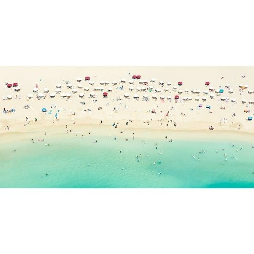 "Joshua Jensen-Nagle, ""Waikiki"", 2016, Photograph Face Mounted to Plexi - Newzones Gallery, Calgary"