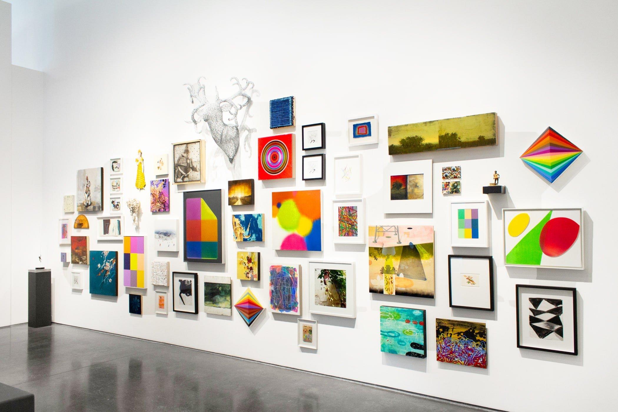 Deck the Walls 2018 at Newzones Gallery, Calgary Canada