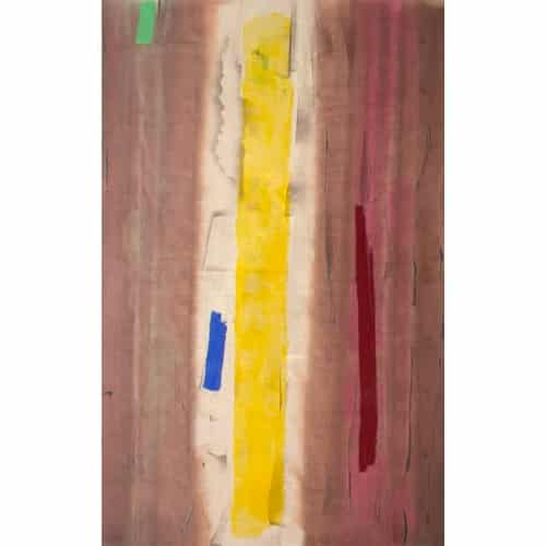 "William Perehudoff, ""AC-79-E"", 1979, Acrylic on Canvas, 64.5 x 40.5 inches"