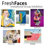 FreshFaces, Invitational Group Exhibition at Newzones Gallery, Calgary Canada